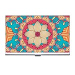 Mandala Business Card Holder Front