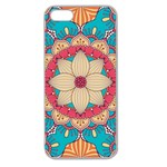 Mandala Apple Seamless iPhone 5 Case (Clear) Front