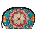 Mandala Accessory Pouch (Large) Front