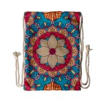 Mandala Drawstring Bag (Small) Front