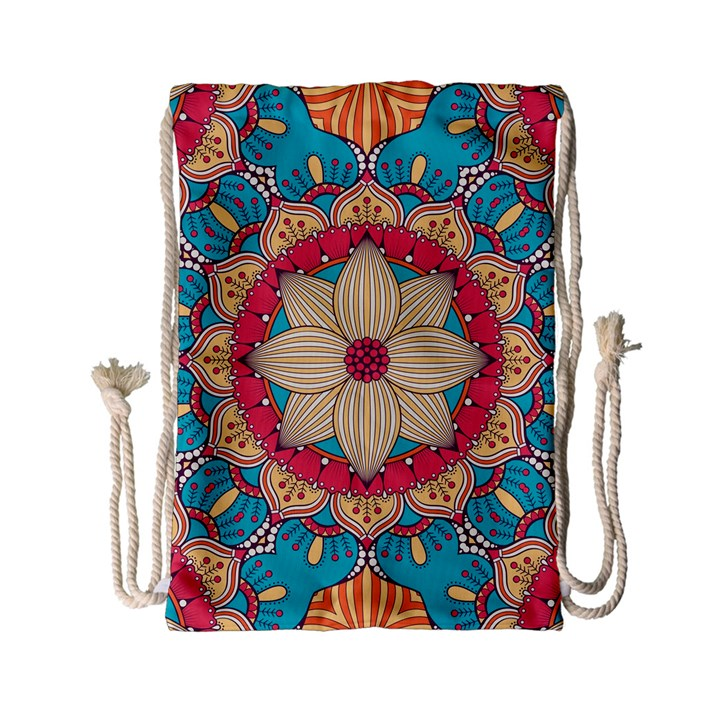 Mandala Drawstring Bag (Small)
