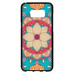 Mandala Samsung Galaxy S8 Plus Black Seamless Case Front