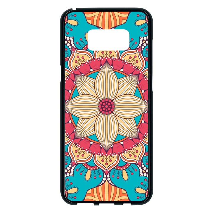 Mandala Samsung Galaxy S8 Plus Black Seamless Case