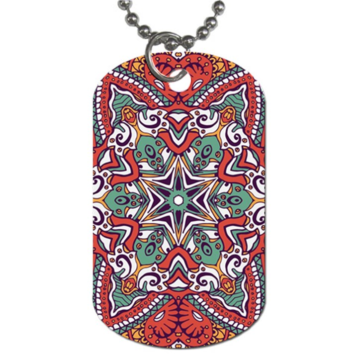 Mandala Dog Tag (Two Sides)