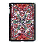 Mandala Apple iPad Mini Case (Black) Front
