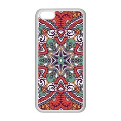 Mandala Iphone 5c Seamless Case (white)