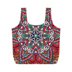 Mandala Full Print Recycle Bag (m)