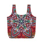 Mandala Full Print Recycle Bag (M) Back