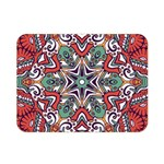 Mandala Double Sided Flano Blanket (Mini)  35 x27  Blanket Front