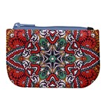 Mandala Large Coin Purse Front