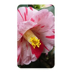 Striped Pink Camellia Ii Memory Card Reader (rectangular) by okhismakingart