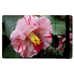 Striped Pink Camellia Ii Apple Ipad Pro 12 9   Flip Case