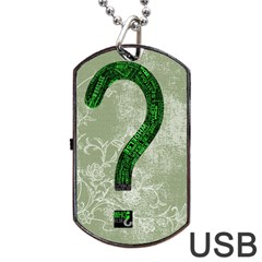 Who Else? Street Tape Dog Tag Usb Flash (one Side)