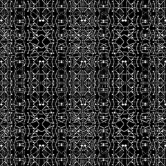 Black And White Ethnic Ornate Pattern Canvas 16  X 16  by dflcprintsclothing
