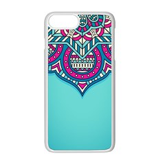 Blue Mandala Iphone 8 Plus Seamless Case (white)