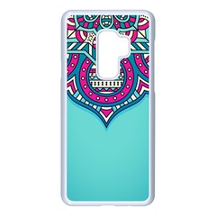 Blue Mandala Samsung Galaxy S9 Plus Seamless Case(white)