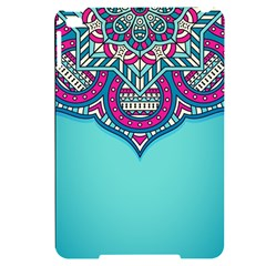 Blue Mandala Apple Ipad Mini 4 Black Uv Print Case