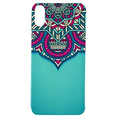 Blue Mandala Apple Iphone Xs Tpu Uv Case