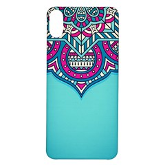 Blue Mandala Iphone X/xs Soft Bumper Uv Case