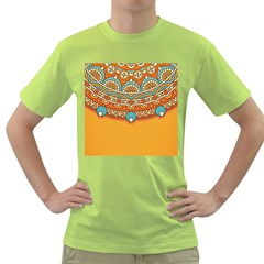Sunshine Mandala Green T-shirt