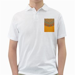 Sunshine Mandala Golf Shirt