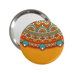 Sunshine Mandala 2 25  Handbag Mirrors