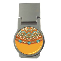 Sunshine Mandala Money Clips (round)