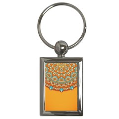 Sunshine Mandala Key Chain (rectangle)