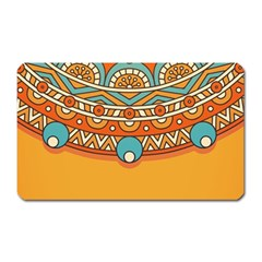 Sunshine Mandala Magnet (rectangular)