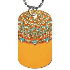 Sunshine Mandala Dog Tag (one Side)