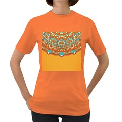 Sunshine Mandala Women s Dark T-shirt