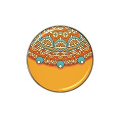 Sunshine Mandala Hat Clip Ball Marker (10 Pack)