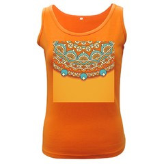 Sunshine Mandala Women s Dark Tank Top