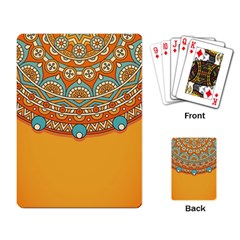 Sunshine Mandala Playing Cards Single Design (rectangle)