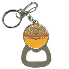 Sunshine Mandala Bottle Opener Key Chain