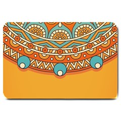 Sunshine Mandala Large Doormat