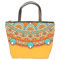 Sunshine Mandala Bucket Bag