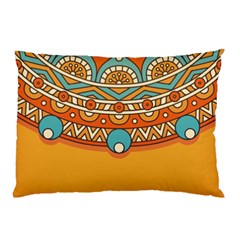Sunshine Mandala Pillow Case