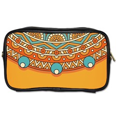 Sunshine Mandala Toiletries Bag (two Sides)