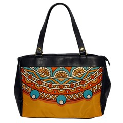 Sunshine Mandala Oversize Office Handbag