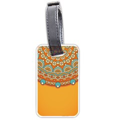 Sunshine Mandala Luggage Tag (one Side)