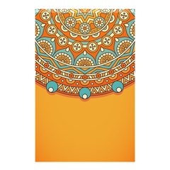 Sunshine Mandala Shower Curtain 48  X 72  (small)