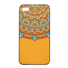 Sunshine Mandala Iphone 4/4s Seamless Case (black)