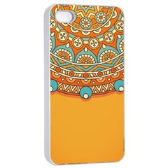 Sunshine Mandala Iphone 4/4s Seamless Case (white)