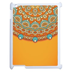 Sunshine Mandala Apple Ipad 2 Case (white)