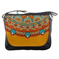 Sunshine Mandala Messenger Bag