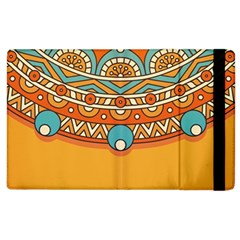 Sunshine Mandala Apple Ipad 2 Flip Case
