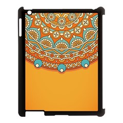 Sunshine Mandala Apple Ipad 3/4 Case (black)