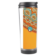 Sunshine Mandala Travel Tumbler