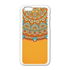 Sunshine Mandala Iphone 6/6s White Enamel Case